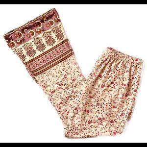 Pants - 💙 Bell Bottom Summer Pants Size Large LAST PAIR!